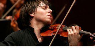 Violinista Joshua Bell