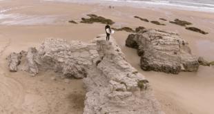 Somo Surf a vista de Drone